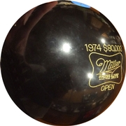 Brunswick 1974 Miller High Life Open Bowling Ball