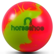 PBS Horseshoe Pink/Yellow Bowling Ball