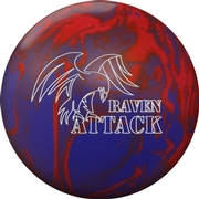 Visionary Raven Attack Bowling Ball