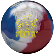 Brunswick Twist Red/White/Blue Bowling Ball