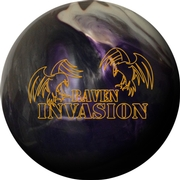 Visionary Raven Invasion Bowling Ball