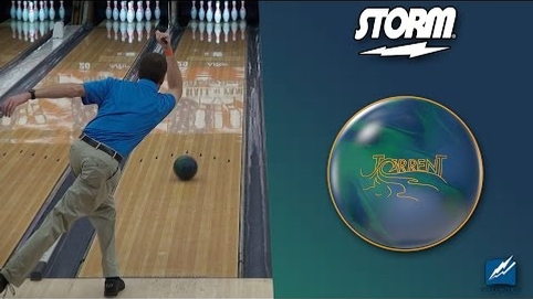 Storm Torrent Bowling Ball by Scott Widmer, BuddiesProShop.com