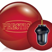 Legends Red Prestige Bowling Ball