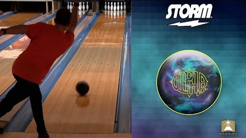 Storm Alpha Crux Bowling Ball by Scott Widmer, BuddiesProShop.com