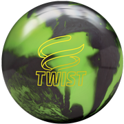 Brunswick Twist Neon Green/Black Bowling Ball