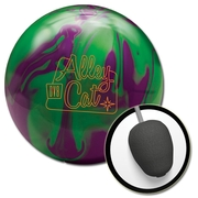 DV8 Alley Cat Purple/Green Bowling Ball