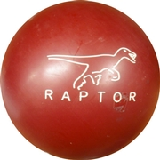 Brunswick Red Raptor Bowling Ball