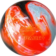 Track Spare Plus Black/Orange/White Diamond Bowling Ball