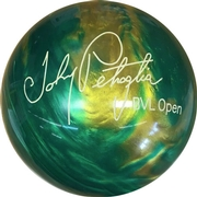 Brunswick Johnny Petraglia BVL Bowling Ball - Green/Gold